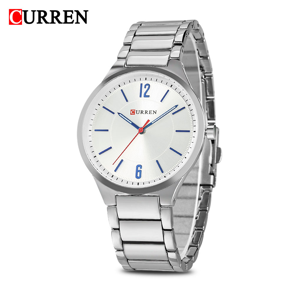 цена на Genuine Curren 8280 Male Quartz Watch Ultra-Thin Dial Stainless Steel Band Luminous Men Wristwatch Watches Relogio Masculino