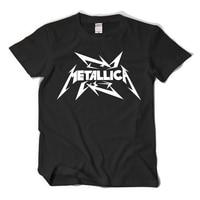 METALLICA Hard Metal Punk Rock Printed T Shirt Men Women Tops Brand Clothing Short Sleeve O