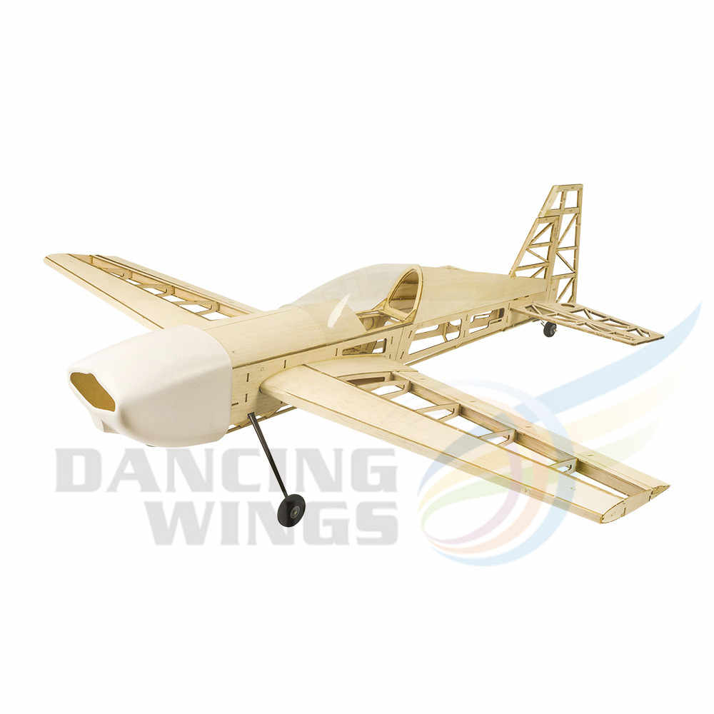 Wooden Aircraft Balsa Wood RC Plane Model 580mm Wingspan Airplane Kit Toys Adult