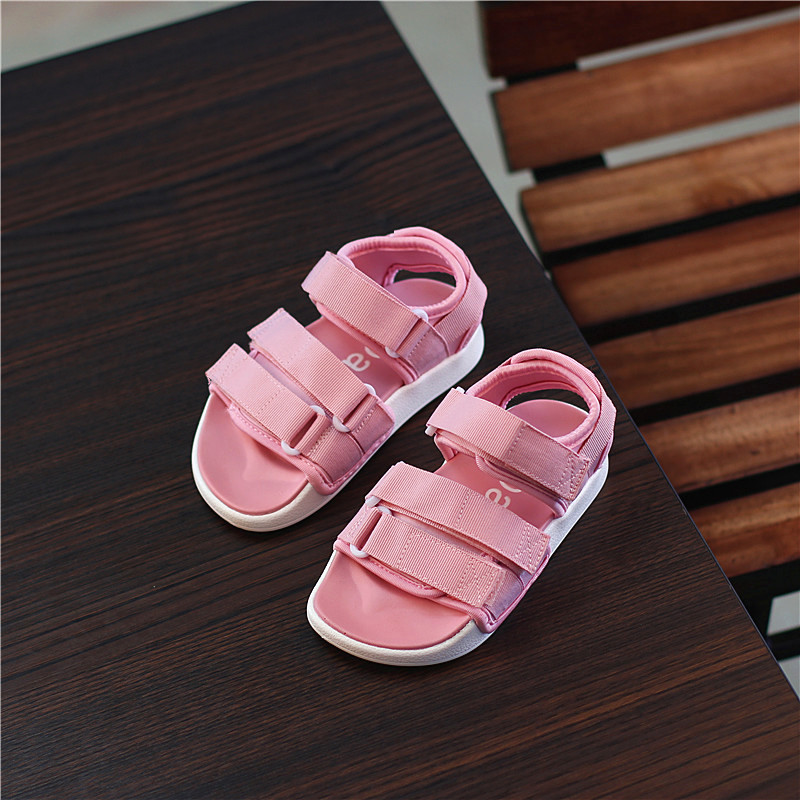 2017 new children summer shoes beach boys and girls leisure sandals size 22 35