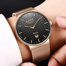 Mens Watches Top Brand Luxury LIGE Waterproof
