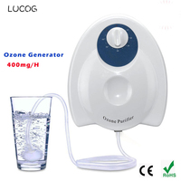 LUCOG Portable Ozone Generator Ozonator Air Water Sterilizer Air purifier for Home Fruit Vegetables Purification Ozonator