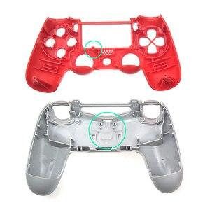 Image 2 - YuXi Chrome przypadku z przodu i tyłu górna dolna pokrywa obudowa Shell dla PS4 V1 stara wersja JDM 001 kontroler Gamepad wymiana