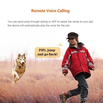 Pet GPS Tracker Dog Collar Waterproof IP68 5Days Standby Geo-fence Mini GPS Tracker Cat GPS Collar Voice Call WiFi+LBS FREE APP 6