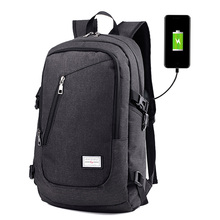 Besegad USB Charge Charging Anti Theft Men Women Teenagers Travel Backpack School Bag 15 Inch for Notebook Laptop Accessories