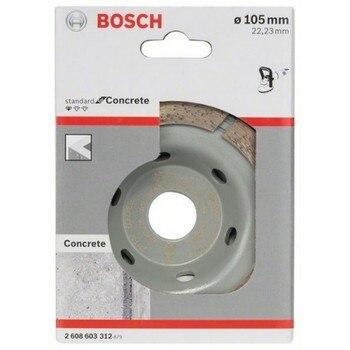 BOSCH 2608603312 Diamond Glass Standard concrete 105x22,23X3