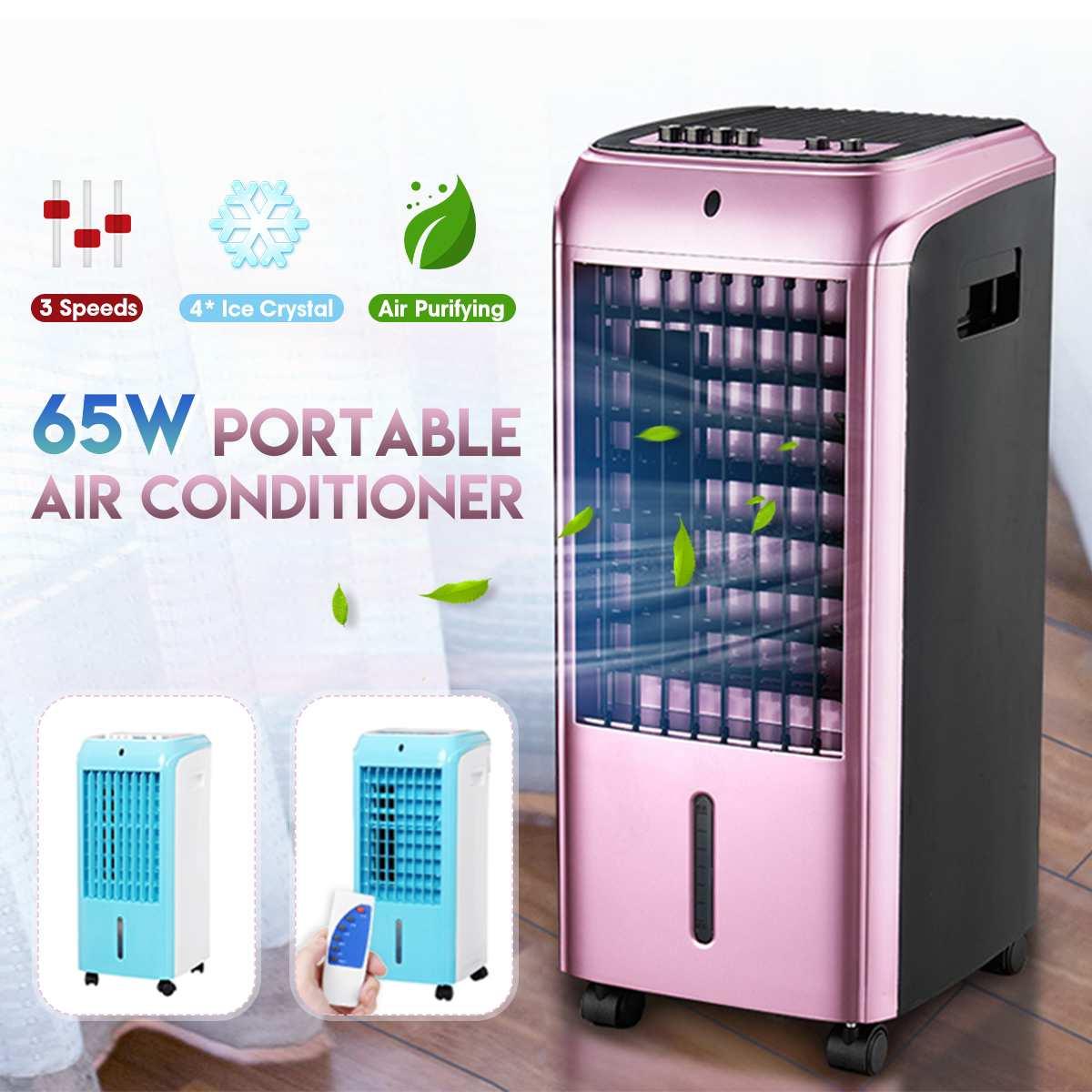 Nova Chegada 2019 65 W Condicionador de Ar Portátil 220 V Refrigerador de Ventoinha de Refrigeração de Ar Condicionado Vento Natural Casa Para Sala de estar quarto