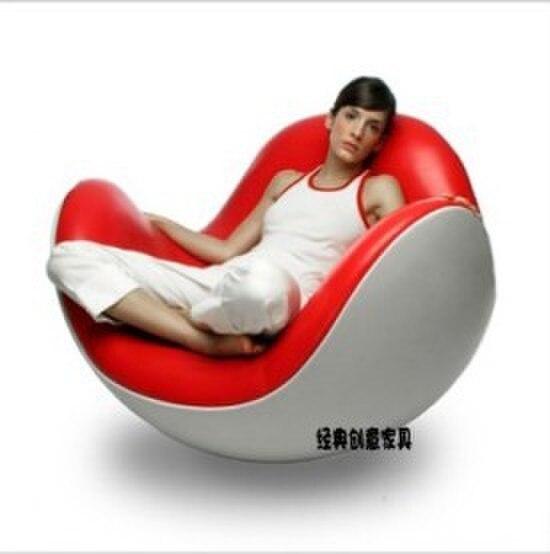 Cáscara de huevo vaso silla puf silla mecedora silla sencilla IKEA ...