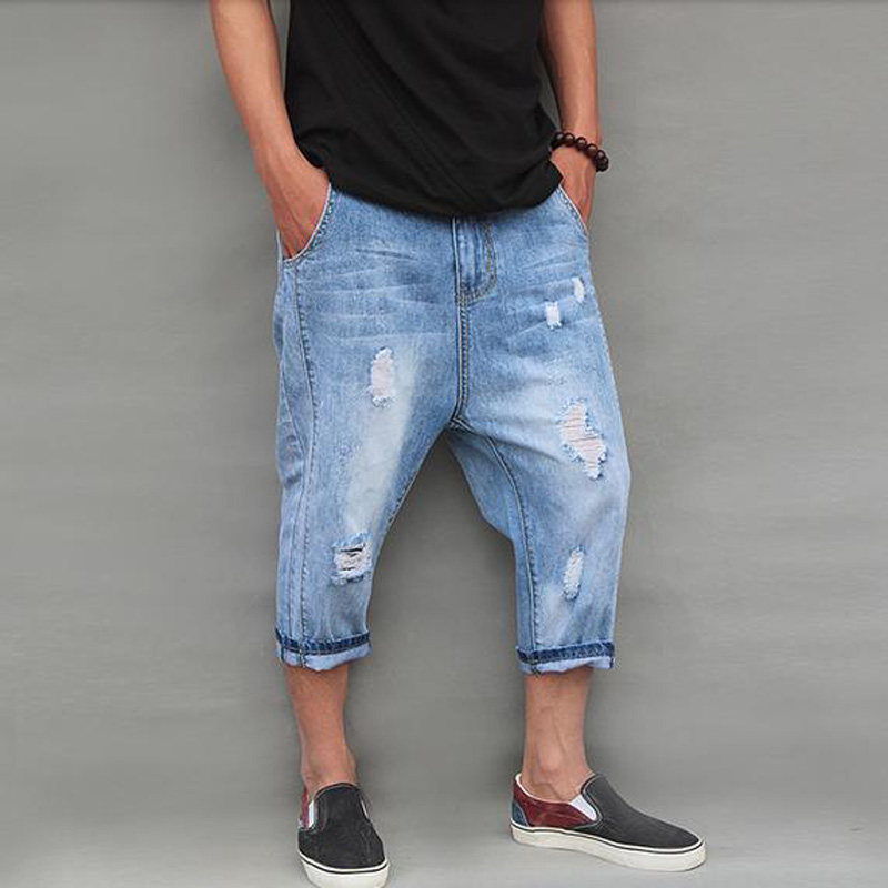 Popular Men Capri Jeans-Buy Cheap Men Capri Jeans lots from China ...