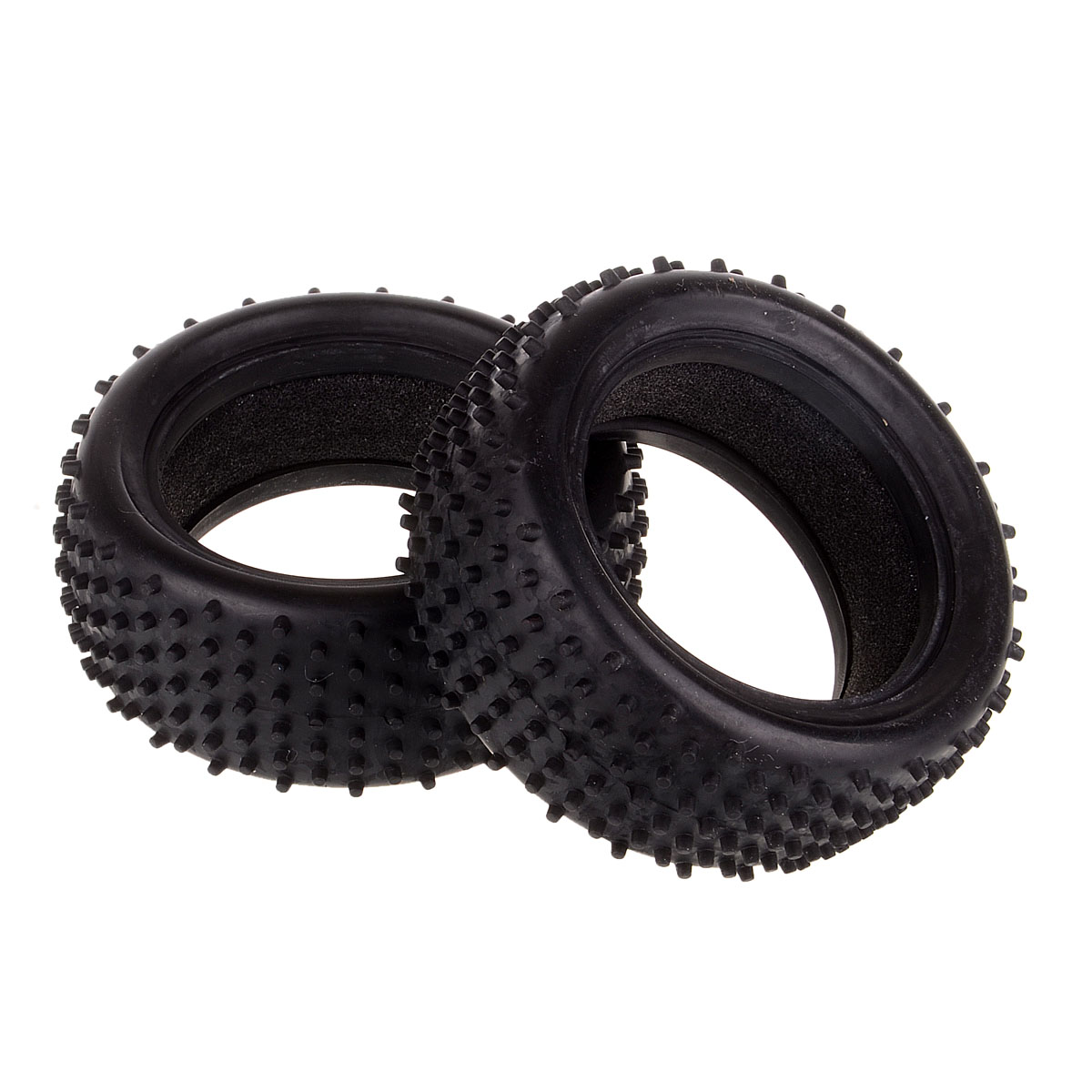 06009 1/10 Off Road Buggy Front Tyre Tires Foam Fit HSP HPI Redcat Spare Parts 2pcs 1 10 rc buggy front tires skin off road front tyre skin with foam fit for hsp redcat off road 94107