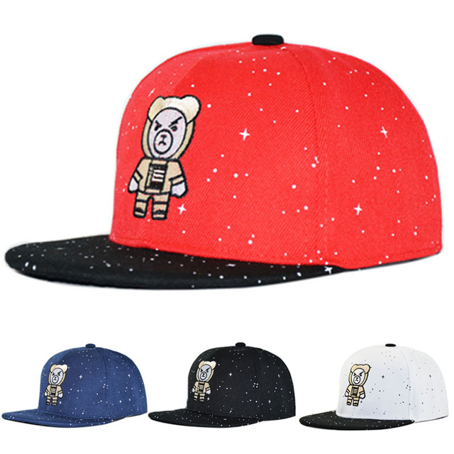 0f9226f7754 Children Cap WESTERN Letters Embroidered Child Baseball Cap Hip Hop Starry  Snapback Hats for Boys Girls