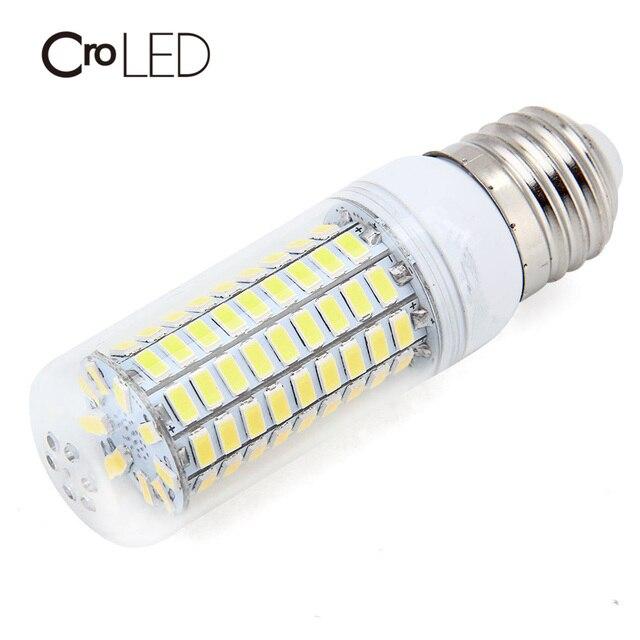 CroLED E27 20W LED Corn Bulb 5730SMD Warm White Cold White 99LEDs for Home Modern Living Room LED Light 2000LM  AC220V-240V