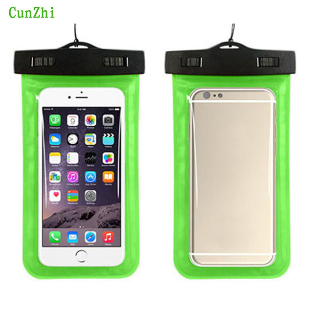 cunzhi Soft PVC 100% Sealed Waterproof Pouch For Jiayu G2 / G2S / G2F / G3 / G3S Case Can Touch Diving Bag