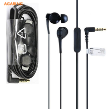 цена на Original Sports Headset Earphone EX300AP For Sony Xperia 1 XZ4 XZ3 H9493 Xperia 10 Plus Z6 In-Ear Wired Remote Control Earbuds