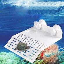 Остров декор полка S/M/L рептилия плавающий пандус черепаха платформа аквариум док Terrapin ABS полезный Горячий