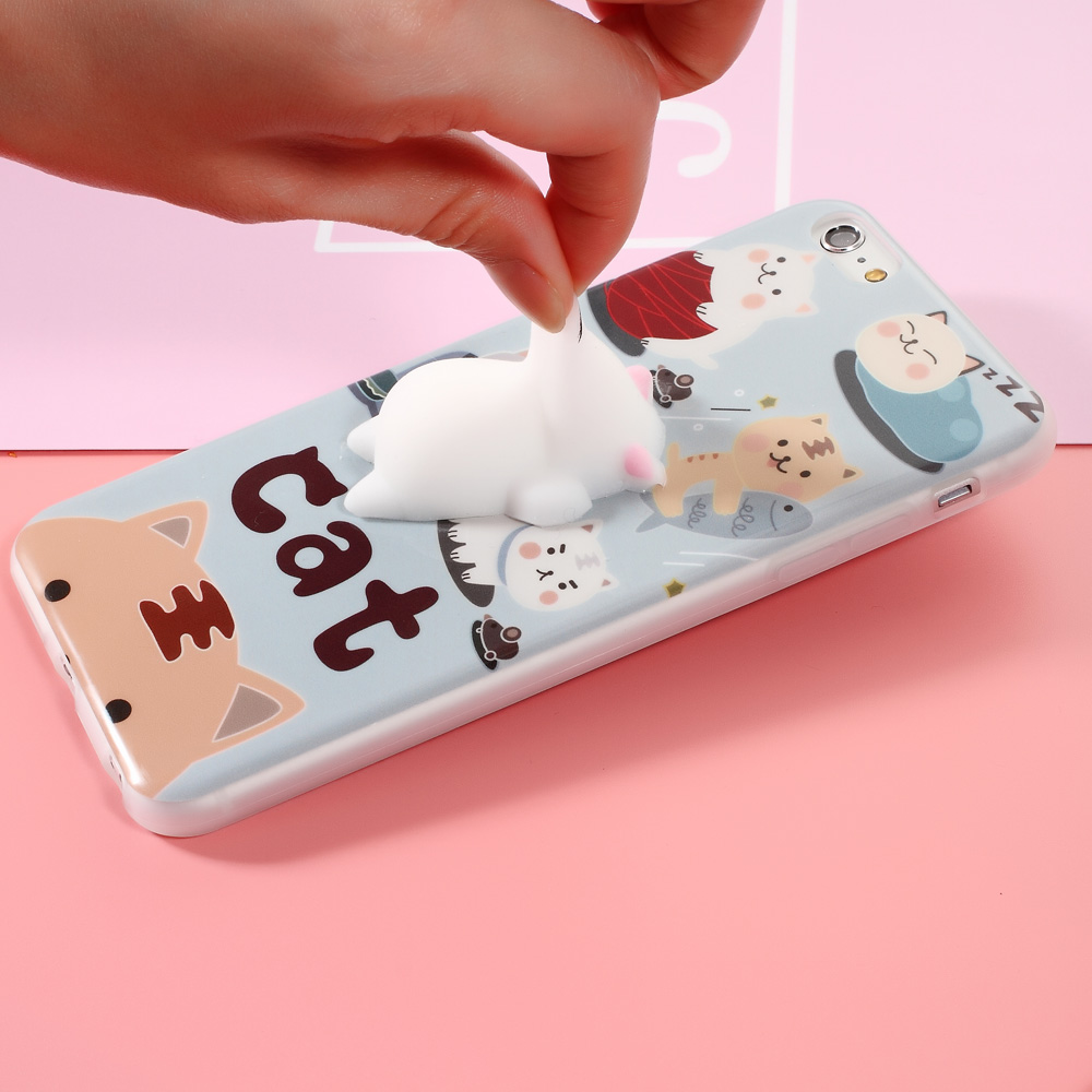 3D Squishy Cat iPhone Cases