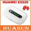 Original desbloqueado huawei e5220 desbloqueado vodafone r206 21.6 150mbps 3g hspa + umts roteador de bolso sem fio wi-fi hotspot móvel