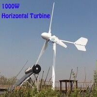 NEW 1000w home use wind generator for wind solar hybrid grid on off tie wind turbine 110v 220v380v avaliable