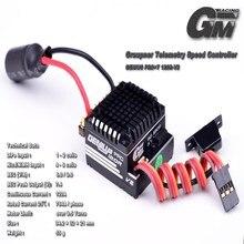 Graupner GM-GENIUS 120R + T PRO V2 Telemetría Carreras de Motor Sin Escobillas ESC para 1/10 Coche de Rc R/C Hobby Sensored ENVÍO GRATIS