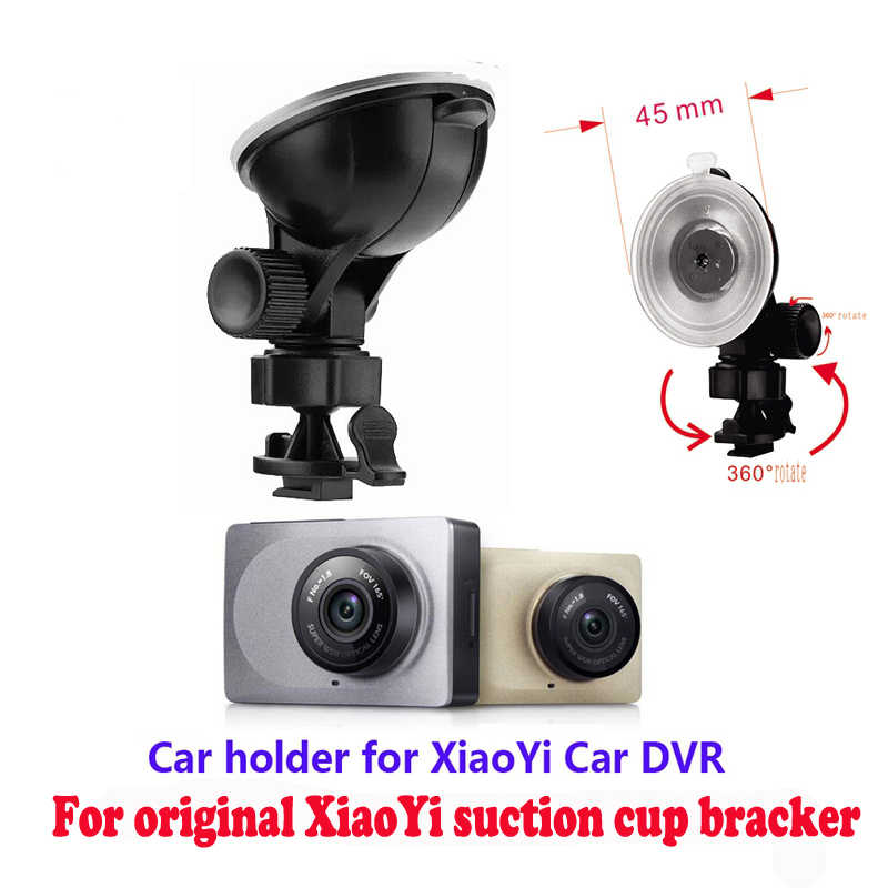 original for Xiaomi Yi Dvr Suction Cup Bracket, Genuine Sucker for Yi Dash Cam, Suction cup holder of  XIAOMI YI Car Dvr Camera
