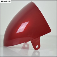 XUANKUN Cafe Racer Retro Motorcycle Modified Saddle Cover Cushion Cover Hard Hump Tail Shell