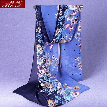 Designer Chiffon Winter Poncho 1