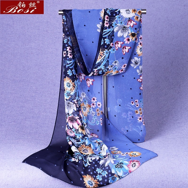 Scarf chiffon winter ponchos woman designer luxury brand hijab head sjaal stoles spring ethnic schal bohemian foulard cheveux ..(China)
