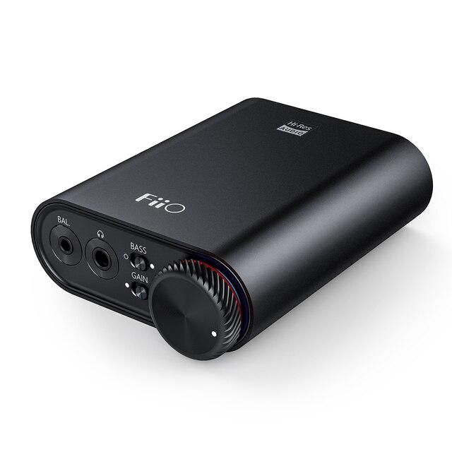 FiiO K3 נייד אוזניות מגבר DSD USB DAC עבור מחשב, תמיכה קואקסיאלי/אופטי/2.5 איזון