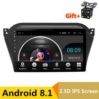 9 2.5D ips экран Android 8,1 автомобильный DVD видео плеер gps для JAC уточнить S2 радио аудио; стерео; gps Navi головное устройство wifi