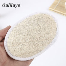 Newest Natural Bath Loofah Sponge Brush Natural Washcloth Body Brush Soft Loofah Sponge Bath Bombs For Bathroom Toiletries Tools(China)