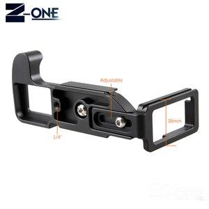 Image 4 - Pro вертикальный штатив L Type с быстроразъемной пластиной, основание для цифровой камеры Fujifilm XH1, для цифровых камер, с поддержкой камеры