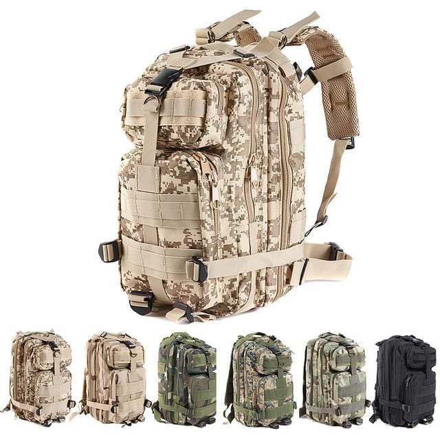 Online Shop US Army 3P Tactical Attack Backpack Bug Out Bag Rucksack ... d0a60b2459fe8