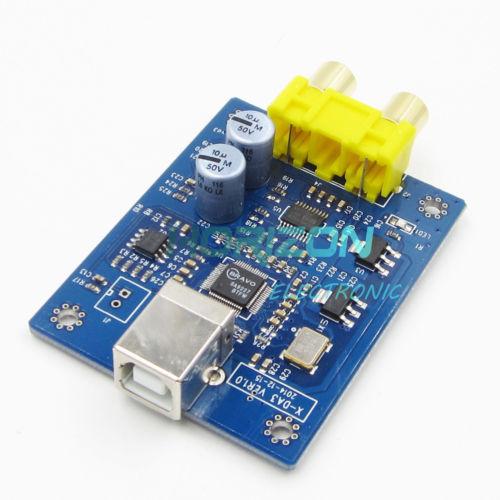 SA9227+PCM5102A 32BIT/384KHZ USB DAC/HIFI Asynchronous Decoder WIN7/WIN8 lusya x da3 sa9227 pcm5102a 32bit 384khz dac hifi asynchronous usb hifi sound card decoder board dc 5v