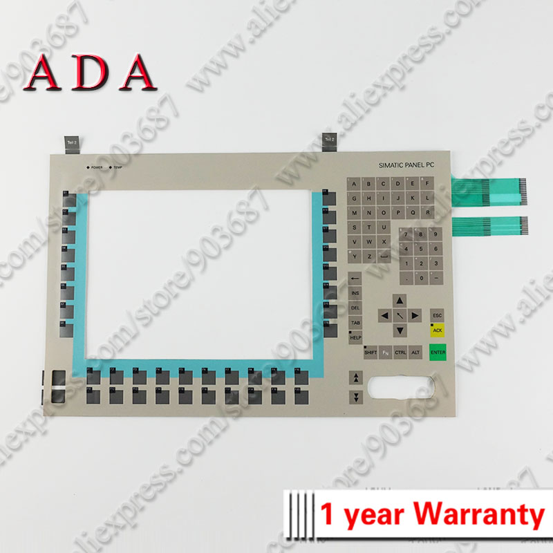 Industrial Computer & Accessories Membrane Switch Keypad Keyboard For 6av7613-0aa11-0cf0 Panel Pc 670 12 Key Brand New