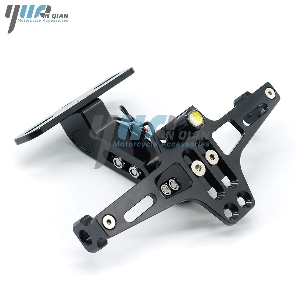 Image 3 - Motorcycle Registration Plate Bracket License Plate Holder For Kawasaki Z1000 Z800 Z750 2003 2004 2005 2006 2007 2008 2009-in License Plate from Automobiles & Motorcycles