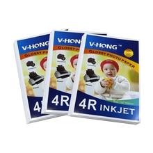 Uesd для струйного принтера A3 A4 A5 A6 4R 5R размер фото глянцевая бумага
