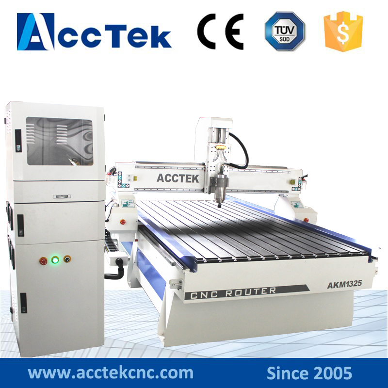 AccTek High Precision Professional Supply Router 1325 Cnc Woodworking For Sale