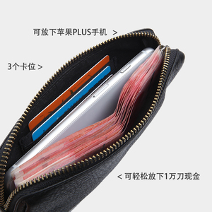 Image 4 - LANSPACE mens leather wallet fashion coin purses holders famous brand purse