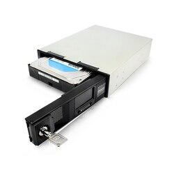 OImaster Cassa del PC Unità Ottica Box per Hard Disk da 3.5 pollici SATA Hard Disk con schermo di Visualizzazione Dello Schermo A CRISTALLI LIQUIDI di trasporto di Stoccaggio di Espansione
