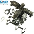FREE SHIPPING - King Way - FOR VW/AUDI 1.9T TDI K04 GT1749V TURBO CHARGER + CAST IRON MANIFOLD + WASTEGATE