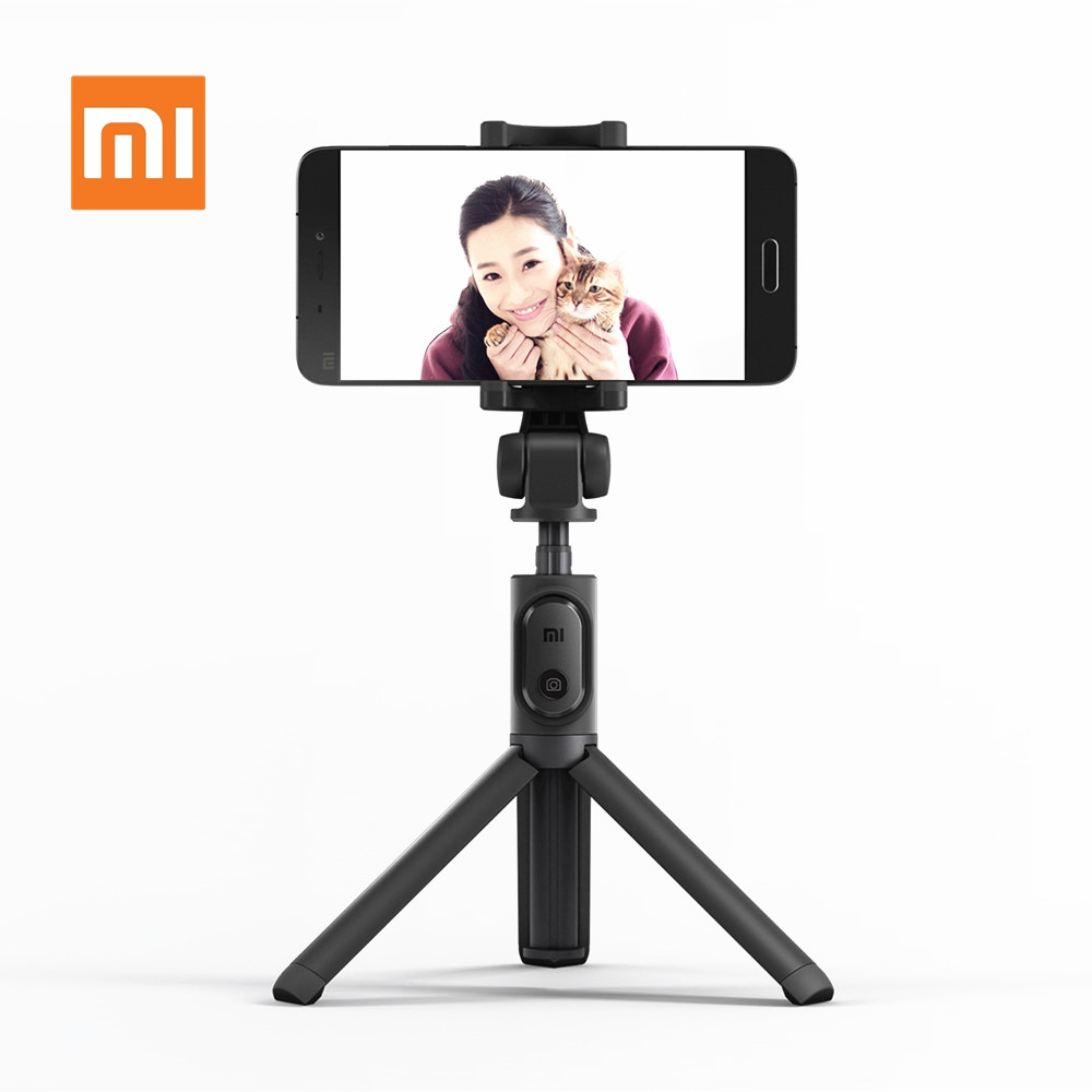 Xiaomi Mi Tripod Selfie Stick Wireless Bluetooth Remote Control Portable Monopod Extendable Handheld Holder for Mobile Phones