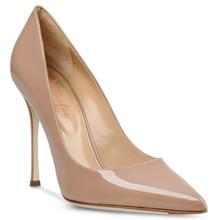 Dame Mode Schuhe Frauen Nude & Blau Punkt Toe Sexy High Heels Kleid & Party & Hochzeit Plattformen Pumpt 15 CM