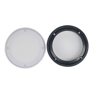 Image 4 - GHXAMP 5 นิ้ว 6.5 นิ้ว 8 นิ้วซับวูฟเฟอร์รถลำโพงย่างตาข่ายอัตโนมัติลำโพงตกแต่งป้องกัน ABS สูง end สีขาว