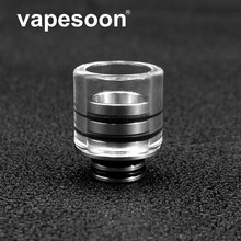High Quality Stainless Steel Glass 510 Drip Tip for 510 Thread Atomizer RTA RDTA as TFV8 Baby Tank