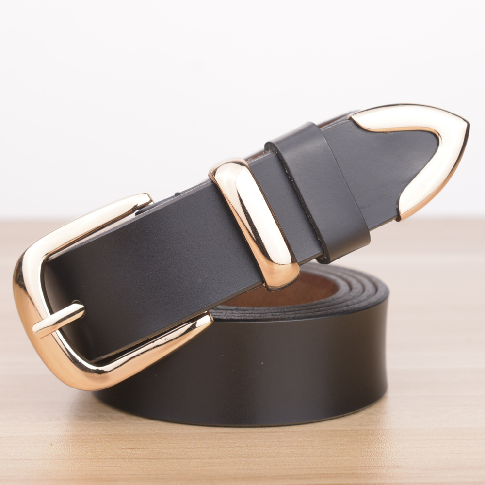 2019 New Women Cow Genuine Leather Hollow Korea Style Fashion Belts For Women Female Pin Buckle,Cinto Feminino Free Shipping