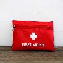 Mini kit de primeiros socorros portátil, bolsa eva impermeável para tratamento de emergência em viagens e em casa