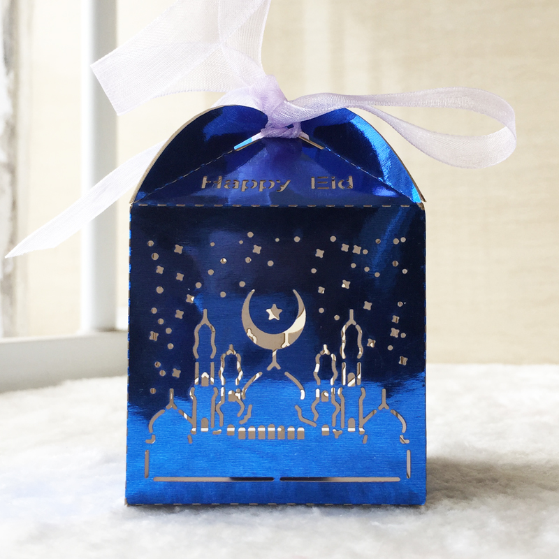 50pcs lot hot sale laser cut pearl paper small box for Cheap house decorations for sale