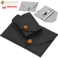 For Macbook Pro 13 Case Wool Felt Sleeve Bag For Macbook Air 11 6 12 13