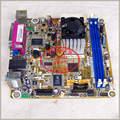 Envío libre placa madre del CONSEJO IPXPV Fundador y equipo industrial POS máquina ITX 17*17 integrado D510 de doble núcleo