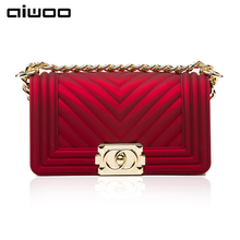 aiwoo women crossbody bag stripes solid hasp fashion pvc shoulder bags lady famous brand messenger bag new arrival women bag